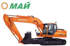 Купить Гусеничный экскаватор DX225LC в Ульяновске