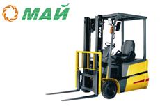 Купить трехопорный электрический погрузчик TCM FTB16-7 в Ульяновске