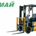 Купить трехопорный электрический погрузчик TCM FTB20-7 в Ульяновске