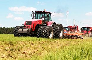 Трактор нового поколения «Беларус -3522» прошел испытания на полях Кубани