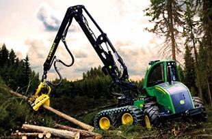 «John Deere» привлек новых клиентов на выставке «Российский лес»
