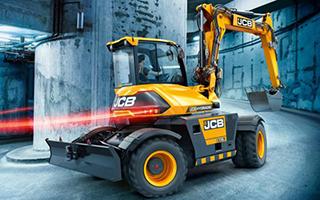 Компания «JCB» анонсировала новый колесный экскаватор Hydradig